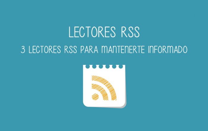 3 lectores rss