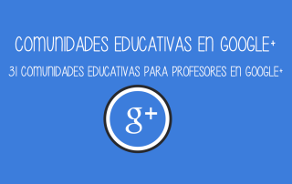 Comunitats educatives a Google  | cristic
