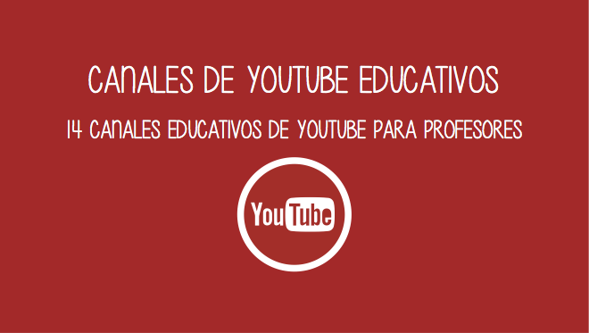 canales youtube profesores